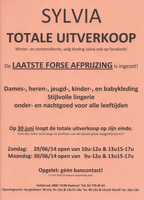cd280661506f6f TOTALE UITVERKOOP wegens stopzetting zaak! Ons aanbod bestaat uit  Winter-  en Zomercollectie! dames-