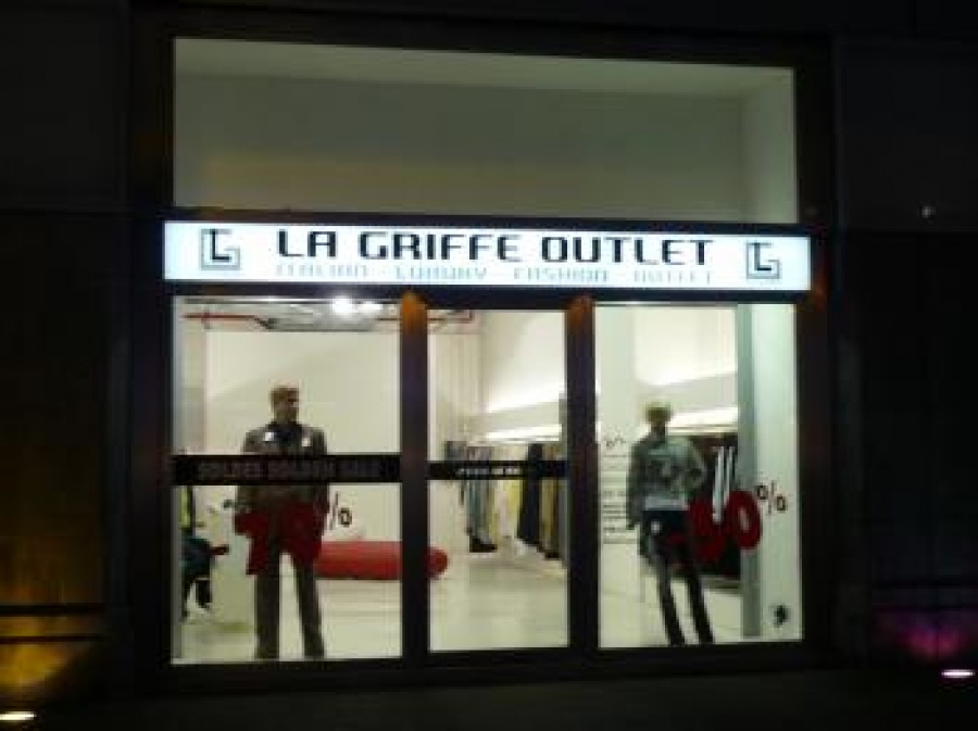 La Griffe Outlet -- Outletwinkel in Brussel