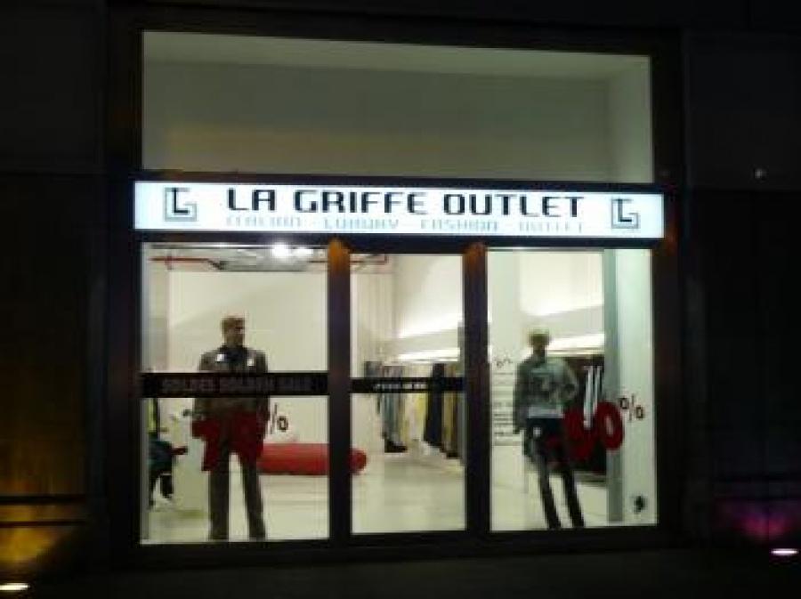 La Griffe Outlet -- Outletwinkel in Brussel