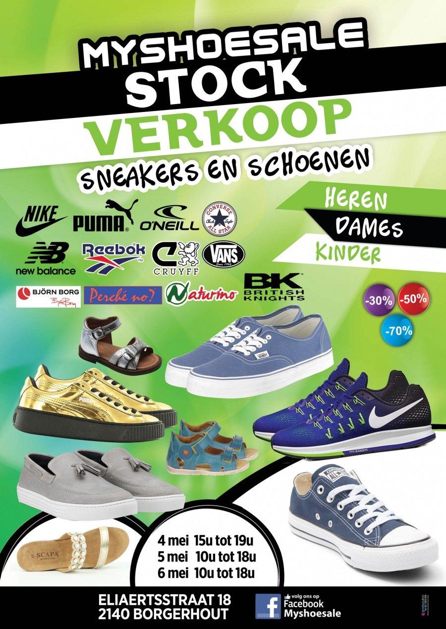 fbd2d6bc2bc Stockverkoop schoenen en sneakers -- Stockverkoop