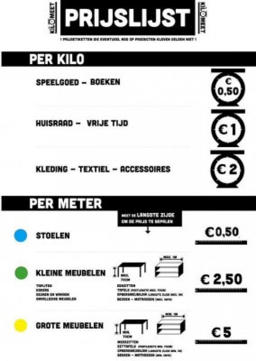 Textiel per kilo verkopen