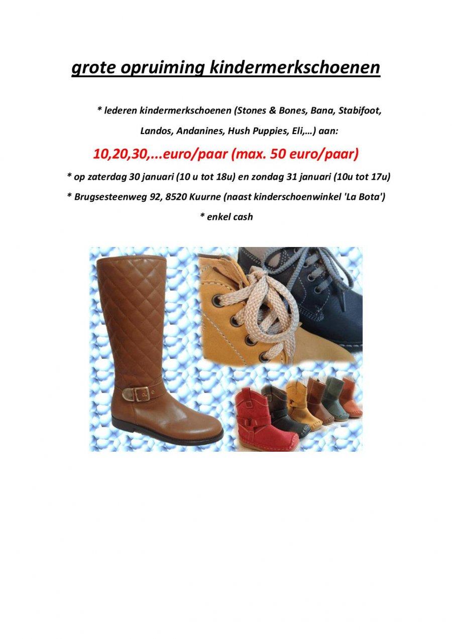 Kinderschoenen Opruiming.Grote Opruiming Kinderschoenen Stockverkoop In Kuurne